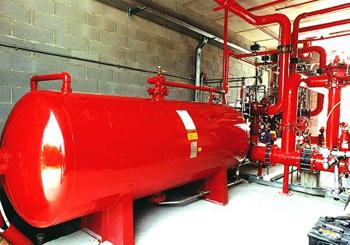 Realizazione impianto antincendio industriale