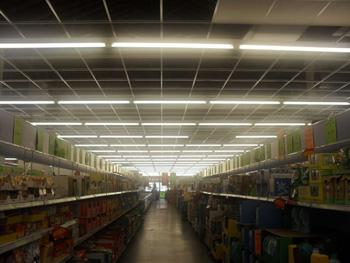 Realizzazione impianto elettrico presso supermercato