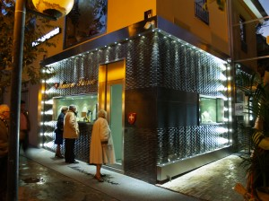 Realizzazione impianto di illuminazione presso Gioielleria Maison Suisse Avezzano