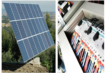 Realizzazione impianti elettrici e fotovoltaici