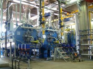 S.I.T.: Realizzazione centrale vapore