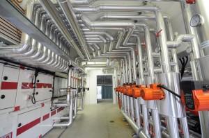 S.I.T.: Centrale termo-frigorifera con pompe di calore geotermiche