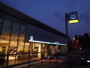 Realizzazione impianto elettrico presso concessionaria Fiat