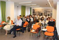 La platea di imprenditori e responsabili gestionali delle aziende che hanno partecipato al workshop