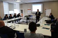 Danilo Pasqualini illustra il controllo di gestione per l'azienda impiantista