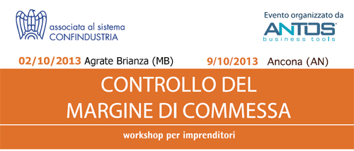 Workshop controllo del margine di commessa
