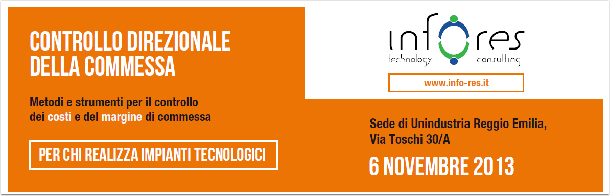 Workshop per impiantisti a Reggio Emilia