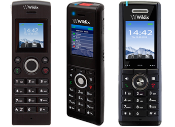 Telefoni W-AIR di Wildix, cordless integrati nel sistema VoIP