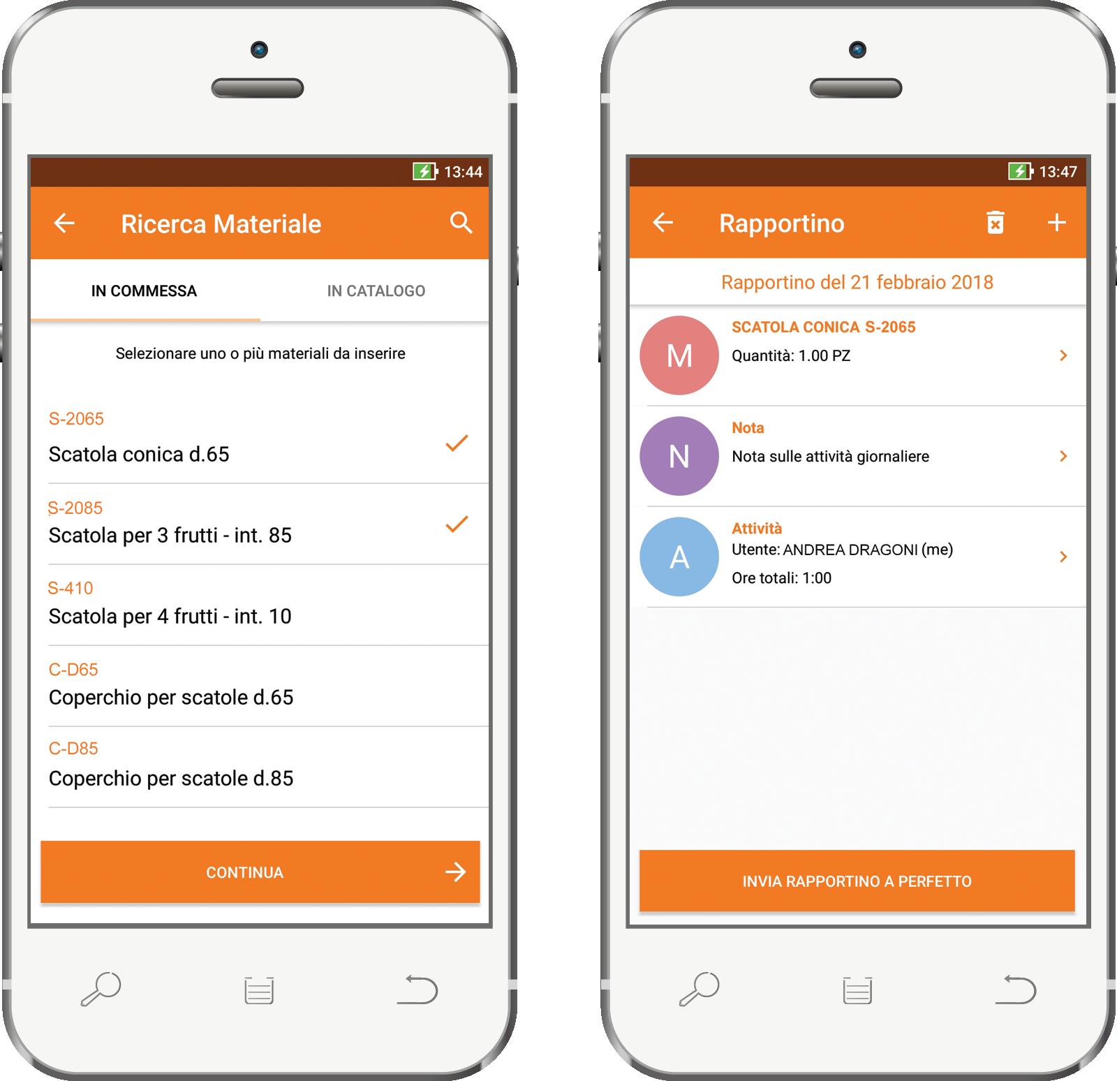 Perfetto app: rapportino da cantiere, controllo ovunque