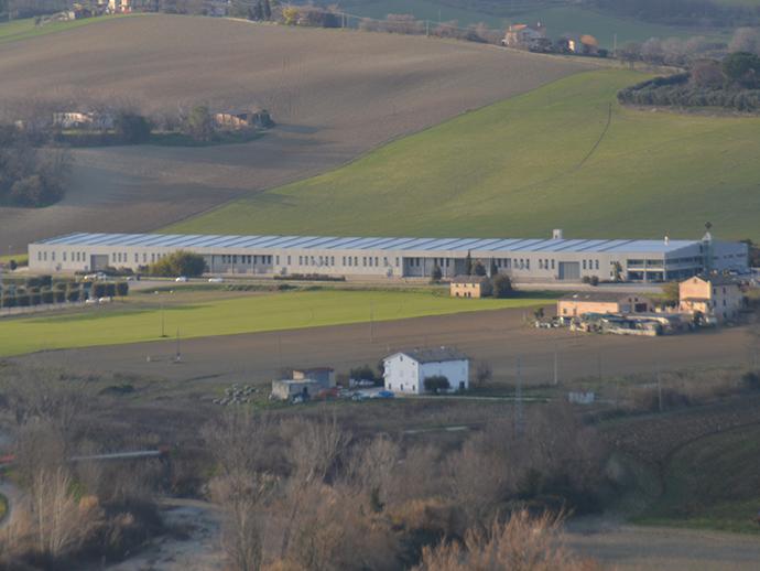 Gestione impianti presso capannone Savelli Ascensori - Porto San Giorgio (FM)