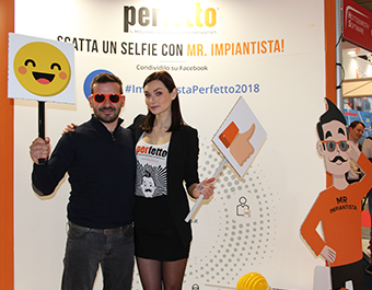 Un selfie con Mr Impiantista